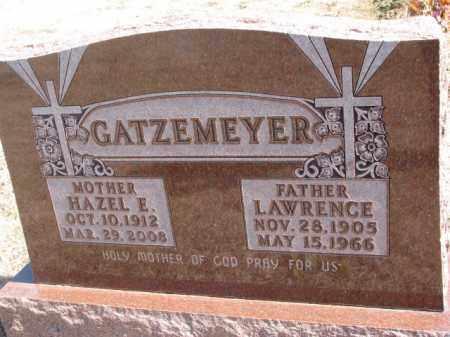 GATZEMEYER, HAZEL E. - Burt County, Nebraska | HAZEL E. GATZEMEYER - Nebraska Gravestone Photos