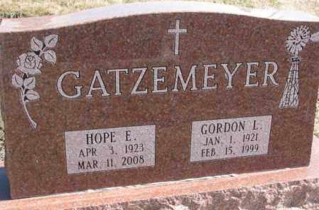 GATZEMEYER, HOPE E. - Burt County, Nebraska | HOPE E. GATZEMEYER - Nebraska Gravestone Photos
