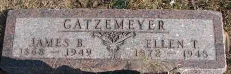 GATZEMEYER, ELLEN T. - Burt County, Nebraska   ELLEN T. GATZEMEYER - Nebraska Gravestone Photos