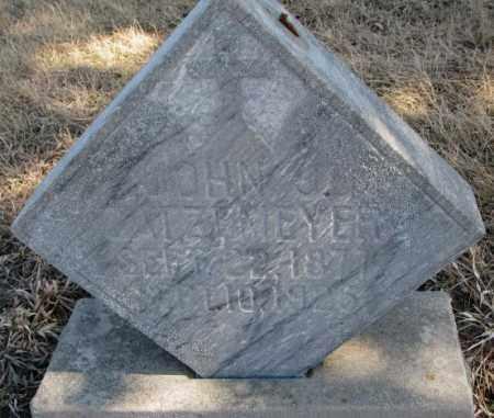 GATZEMEYER, JOHN J. - Burt County, Nebraska | JOHN J. GATZEMEYER - Nebraska Gravestone Photos