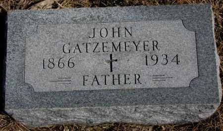 GATZEMEYER, JOHN - Burt County, Nebraska | JOHN GATZEMEYER - Nebraska Gravestone Photos