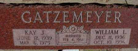 GATZEMEYER, WILLIAM L. - Burt County, Nebraska | WILLIAM L. GATZEMEYER - Nebraska Gravestone Photos