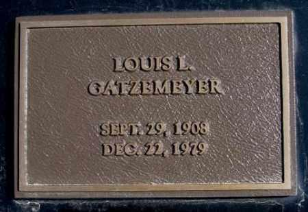 GATZEMEYER, LOUIS L. - Burt County, Nebraska   LOUIS L. GATZEMEYER - Nebraska Gravestone Photos