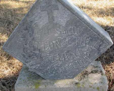 GATZEMEYER, LYLE - Burt County, Nebraska   LYLE GATZEMEYER - Nebraska Gravestone Photos