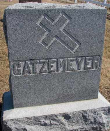 GATZEMEYER, PLOT - Burt County, Nebraska | PLOT GATZEMEYER - Nebraska Gravestone Photos