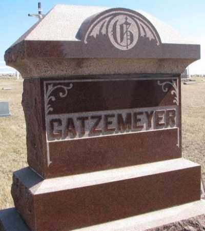 GATZEMEYER, PLOT - Burt County, Nebraska | PLOT GATZEMEYER - Nebraska Gravestone Photos