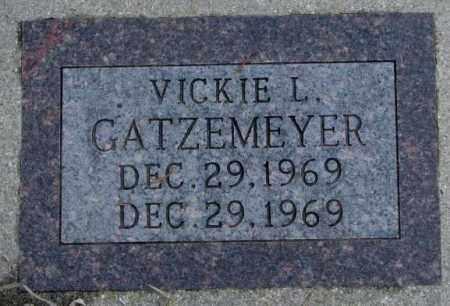 GATZEMEYER, VICKIE L. - Burt County, Nebraska | VICKIE L. GATZEMEYER - Nebraska Gravestone Photos