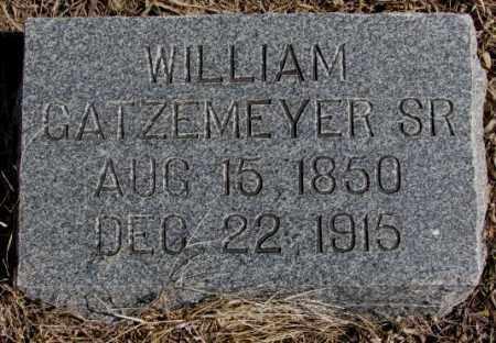 GATZEMEYER, WILLIAM SR. - Burt County, Nebraska | WILLIAM SR. GATZEMEYER - Nebraska Gravestone Photos
