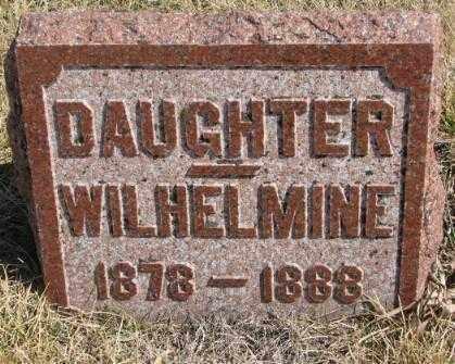 GATZEMEYER, WILHELMINE - Burt County, Nebraska | WILHELMINE GATZEMEYER - Nebraska Gravestone Photos