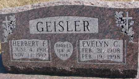 GEISLER, EVELYN C. - Burt County, Nebraska | EVELYN C. GEISLER - Nebraska Gravestone Photos