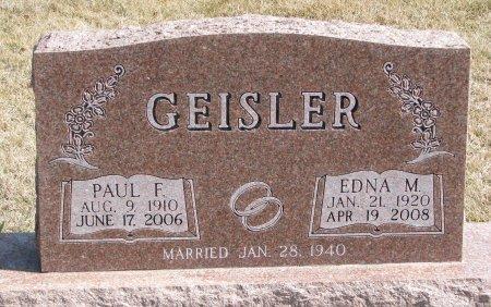 GEISLER, EDNA M. - Burt County, Nebraska | EDNA M. GEISLER - Nebraska Gravestone Photos