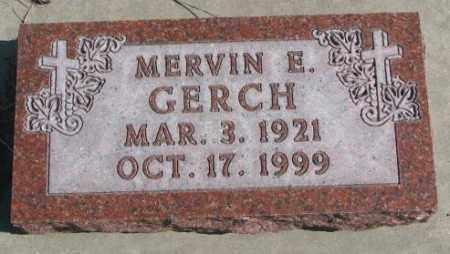 GERCH, MERVIN E. - Burt County, Nebraska | MERVIN E. GERCH - Nebraska Gravestone Photos