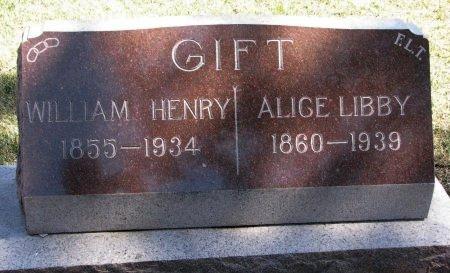 GIFT, WILLIAM HENRY - Burt County, Nebraska | WILLIAM HENRY GIFT - Nebraska Gravestone Photos