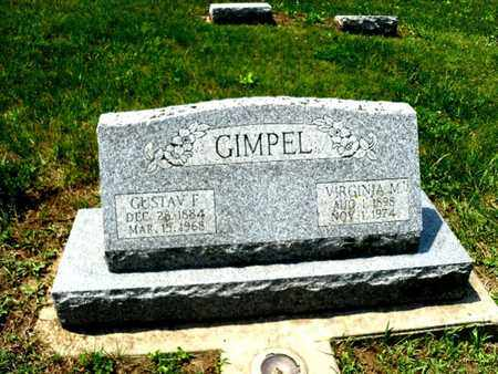 GIMPEL, GUSTAV F. - Burt County, Nebraska | GUSTAV F. GIMPEL - Nebraska Gravestone Photos