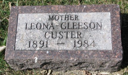 GLEESON, LEONA - Burt County, Nebraska   LEONA GLEESON - Nebraska Gravestone Photos