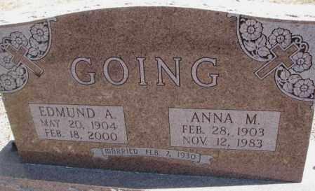 GOING, EDMUND A. - Burt County, Nebraska | EDMUND A. GOING - Nebraska Gravestone Photos