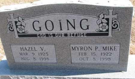 "GOING, MYRON P. ""MIKE"" - Burt County, Nebraska | MYRON P. ""MIKE"" GOING - Nebraska Gravestone Photos"