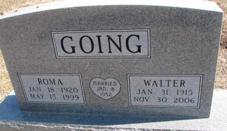 GOING, WALTER - Burt County, Nebraska | WALTER GOING - Nebraska Gravestone Photos