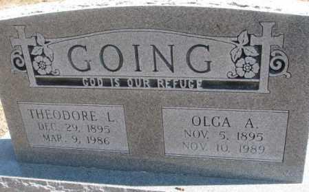 GOING, OLGA A. - Burt County, Nebraska | OLGA A. GOING - Nebraska Gravestone Photos