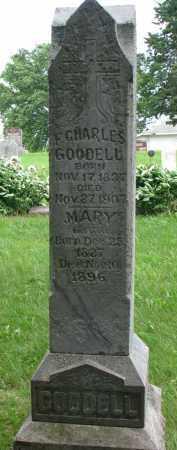 GOODELL, MARY - Burt County, Nebraska | MARY GOODELL - Nebraska Gravestone Photos