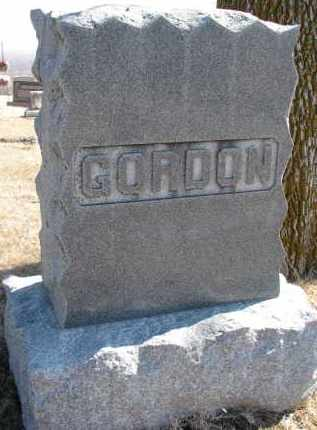 GORDON, FAMILY STONE - Burt County, Nebraska | FAMILY STONE GORDON - Nebraska Gravestone Photos