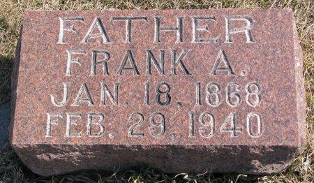 GOULD, FRANK A. - Burt County, Nebraska | FRANK A. GOULD - Nebraska Gravestone Photos