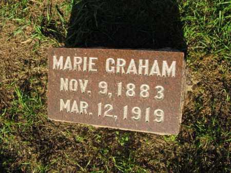 GRAHAM, MARIE - Burt County, Nebraska | MARIE GRAHAM - Nebraska Gravestone Photos