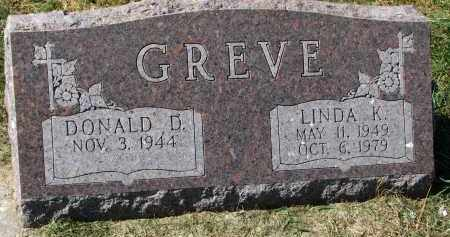 GREVE, LINDA K. - Burt County, Nebraska | LINDA K. GREVE - Nebraska Gravestone Photos