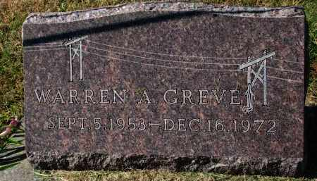 GREVE, WARREN A. - Burt County, Nebraska | WARREN A. GREVE - Nebraska Gravestone Photos