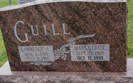 GUILL, LAWRENCE A. - Burt County, Nebraska | LAWRENCE A. GUILL - Nebraska Gravestone Photos