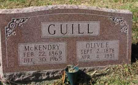 GUILL, MCKENDRY - Burt County, Nebraska | MCKENDRY GUILL - Nebraska Gravestone Photos