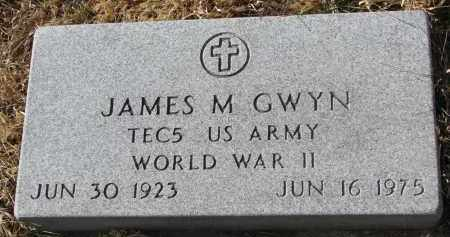 GWYN, JAMES M. - Burt County, Nebraska | JAMES M. GWYN - Nebraska Gravestone Photos