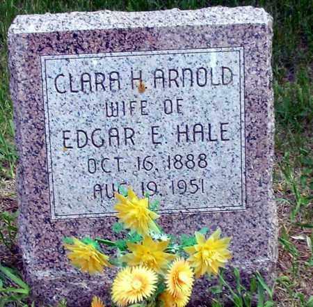 ARNOLD HALE, CLARA H. - Burt County, Nebraska | CLARA H. ARNOLD HALE - Nebraska Gravestone Photos
