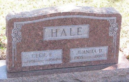 HALE, CECIL E. - Burt County, Nebraska   CECIL E. HALE - Nebraska Gravestone Photos