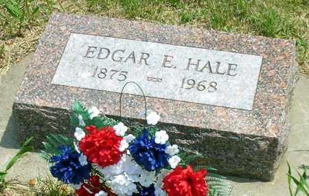 HALE, EDGAR E. - Burt County, Nebraska | EDGAR E. HALE - Nebraska Gravestone Photos