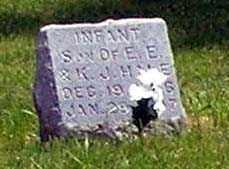 HALE, INFANT - Burt County, Nebraska | INFANT HALE - Nebraska Gravestone Photos