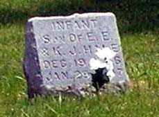 HALE, INFANT - Burt County, Nebraska   INFANT HALE - Nebraska Gravestone Photos