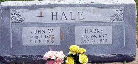 HALE, HARRY - Burt County, Nebraska | HARRY HALE - Nebraska Gravestone Photos