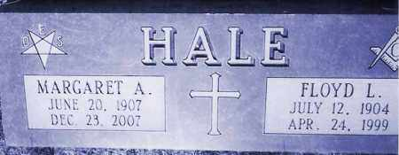 HALE, MARGARET A. - Burt County, Nebraska | MARGARET A. HALE - Nebraska Gravestone Photos