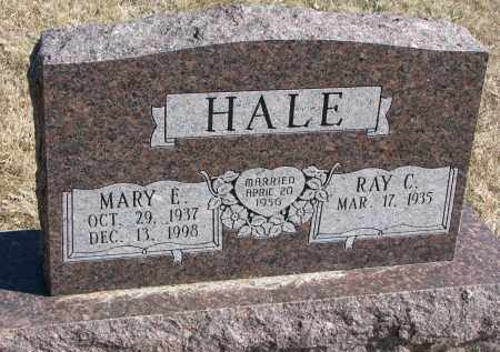 HALE, RAY C. - Burt County, Nebraska | RAY C. HALE - Nebraska Gravestone Photos