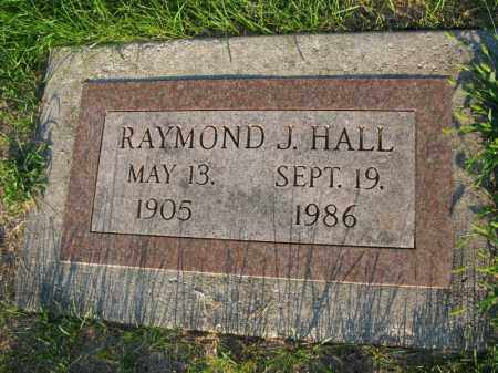 HALL, RAYMOND J. - Burt County, Nebraska | RAYMOND J. HALL - Nebraska Gravestone Photos