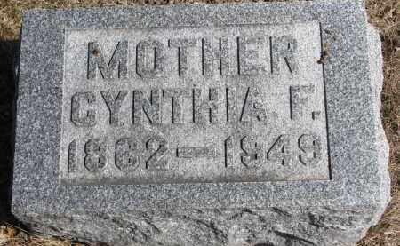 HALSTEAD, CYNTHIA F. - Burt County, Nebraska | CYNTHIA F. HALSTEAD - Nebraska Gravestone Photos