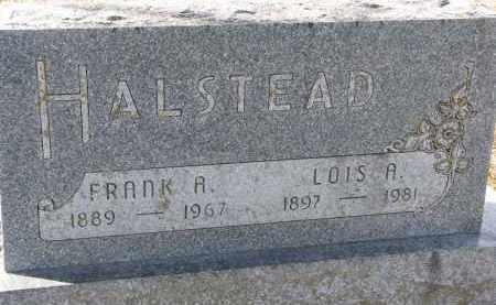 HALSTEAD, FRANK R. - Burt County, Nebraska | FRANK R. HALSTEAD - Nebraska Gravestone Photos