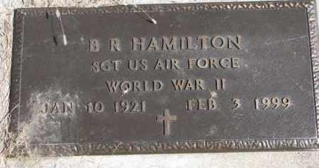 HAMILTON, B.R. (WW II) - Burt County, Nebraska | B.R. (WW II) HAMILTON - Nebraska Gravestone Photos