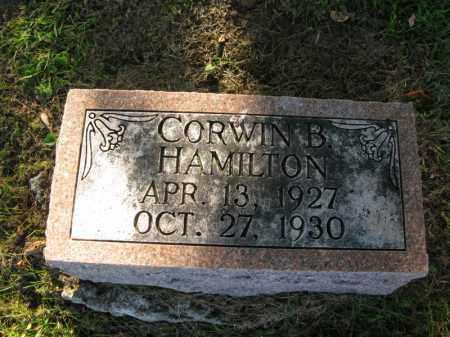 HAMILTON, CORWIN B. - Burt County, Nebraska | CORWIN B. HAMILTON - Nebraska Gravestone Photos