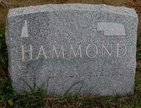 HAMMOND, S. GEORGENE - Burt County, Nebraska | S. GEORGENE HAMMOND - Nebraska Gravestone Photos