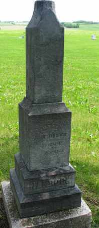 HANCOCK, MARY - Burt County, Nebraska | MARY HANCOCK - Nebraska Gravestone Photos