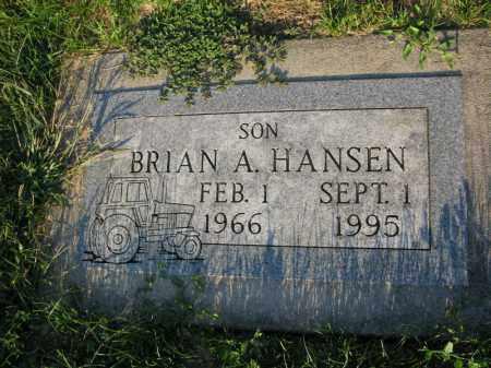 HANSEN, BRIAN A. - Burt County, Nebraska | BRIAN A. HANSEN - Nebraska Gravestone Photos