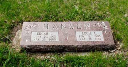 HANSEN, EDGAR L. - Burt County, Nebraska | EDGAR L. HANSEN - Nebraska Gravestone Photos