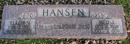 HANSEN, NED J. - Burt County, Nebraska | NED J. HANSEN - Nebraska Gravestone Photos